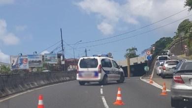 Photo of Un accident provoque la fermeture du tunnel de l'ancienne maternité à Fort-de-France