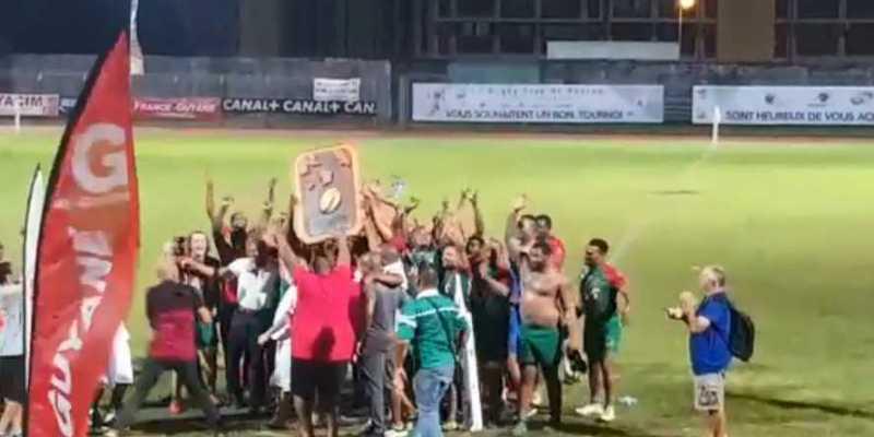 L'US Robert remporte le tournoi Antilles Guyane de Rugby