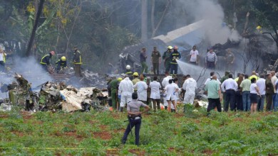 Photo of Trois survivants dans le crash d'un avion de ligne à Cuba