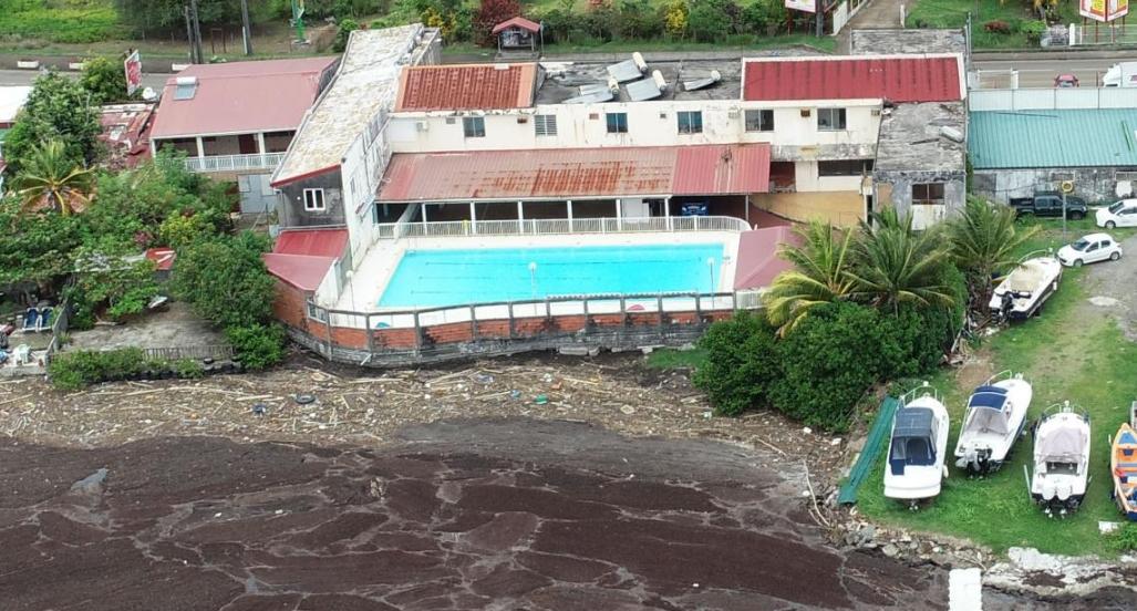 Algues sargasses fermeture de la piscine municipale du for Fermeture piscine