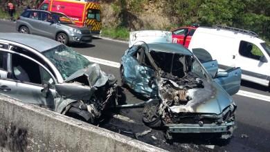 Photo of Un choc frontal entre 2 véhicules à Case-Pilote fait 4 blessés légers