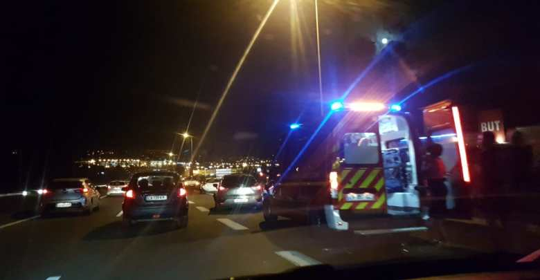 Accident sur l'autoroute et à Ravine Vilaine à Fort-de-France (Vidéo)