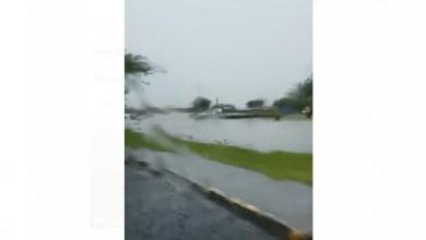 Photo of Onde tropicale : l'eau commence à monter à Rivière-Salée et dans les environs