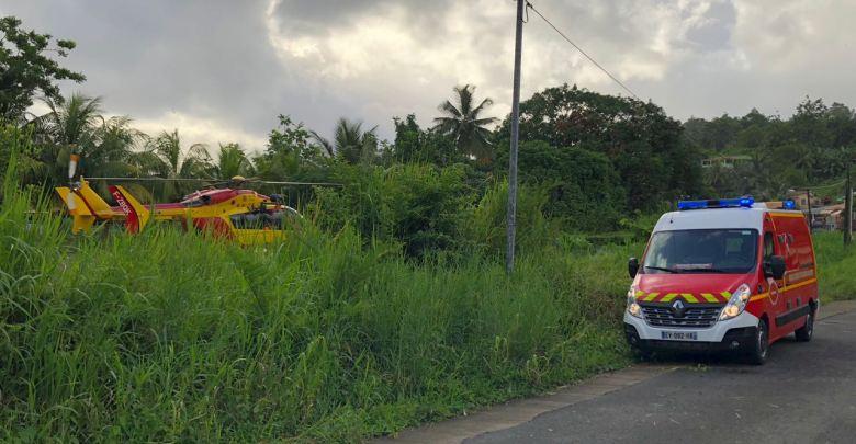 Un homme blessé par arme blanche au Morne des Esses à Sainte-Marie