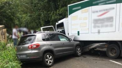 Photo of Collision entre une voiture et un camion au Gros-Morne