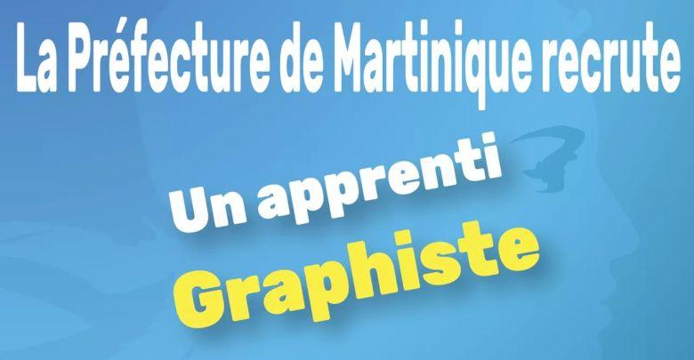 Photo of Emploi : la Préfecture de Martinique recrute un apprenti graphiste (H/F)