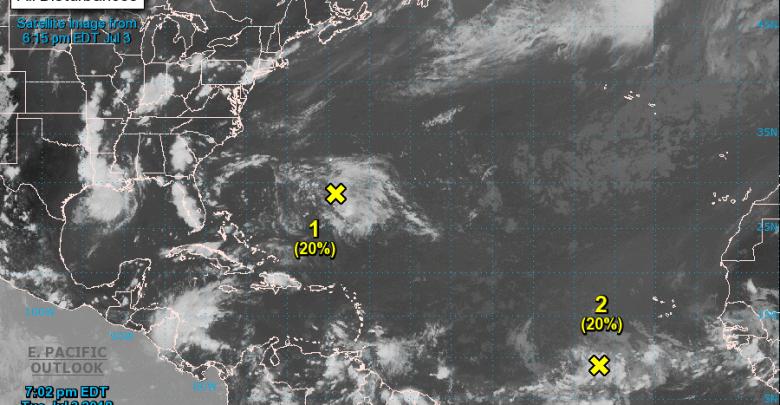 """Une onde tropicale """"vigoureuse"""" surveillée par le NHC"""
