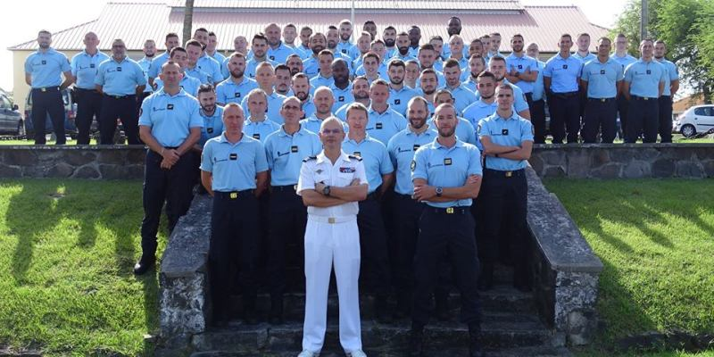 Arrivée de 72 nouveaux gendarmes en Martinique