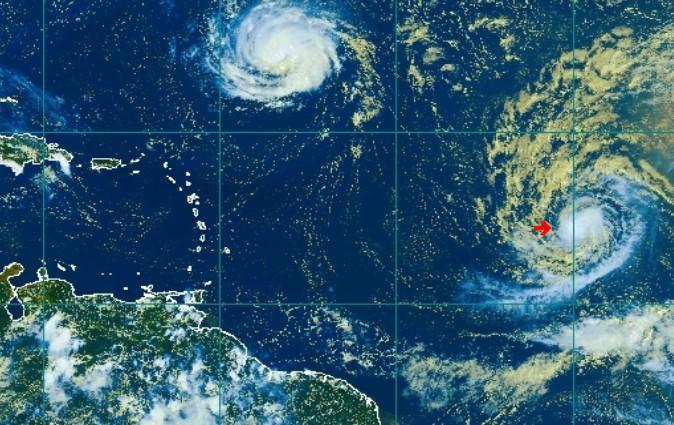 La tempête tropicale ISAAC devient un ouragan de catégorie 1