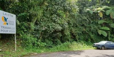 Déchets et VHU jonchent la route de Balata à Fort-de-France