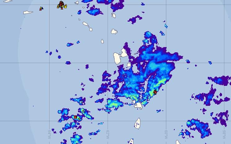 Le nord de la Martinique touché par des pluies diluviennes qui devraient s'intensifier cet après-midi