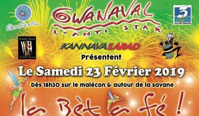 """Photo of Carnaval 2019 : la parade nocturne la """"Bèt a Fé"""", c'est ce samedi à Fort-de-France"""
