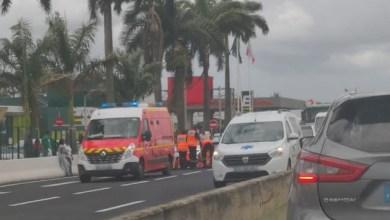 Photo of Accident sur la RN5 au Lamentin : la piétonne est décédée