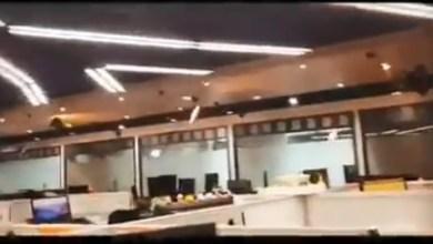Photo of (VIDÉO) Un séisme frappe Taïwan. Une secousse impressionnante filmée en direct à l'intérieur d'un bâtiment