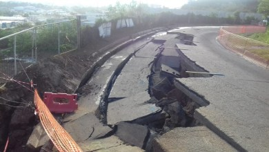 Photo of Glissement de terrain à Acajou : le phénomène s'accentue