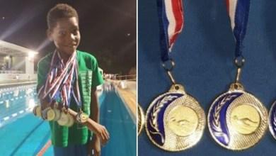 Photo of Saison terminée pour Christophe Maleau avec 5 titres de champion de Martinique en natation