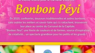 Photo of Bonbon Péyi » : thème du carnaval 2020 à Fort-de-France