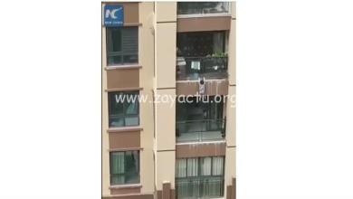 Photo of Chine : un enfant de 3 ans fait une chute de 5 étages. Il est rattrapé in-extremis (VIDÉO)