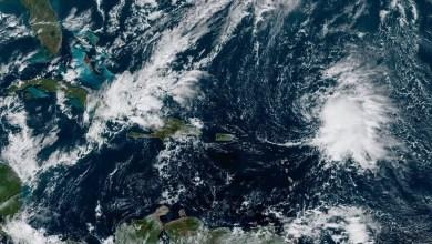 Photo of Naissance de la tempête tropicale Sébastien au nord-est des Petites-Antilles