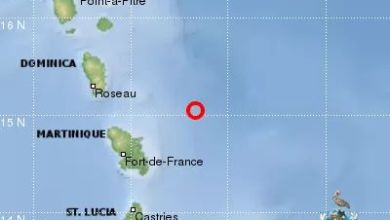 Photo of Un séisme de magnitude 4,3 enregistré hier soir en Martinique