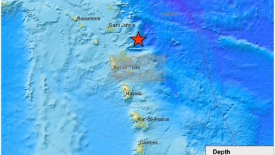 Photo of Un tremblement de terre enregistré ce jeudi soir en Guadeloupe