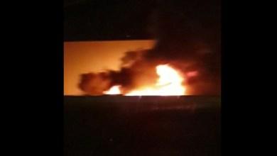 Photo of Plusieurs bennes à ordures incendiées dans la zone industrielle de Jambette (VIDEO)