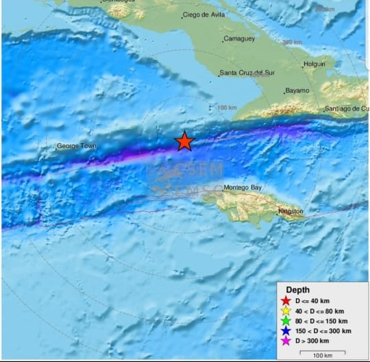 L'alerte au tsunami levée après le séisme dans les Caraïbes