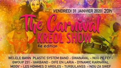 "Photo of La 4eme édition du ""The Carnival Kréol Show"" se déroule au Diamant ce vendredi"