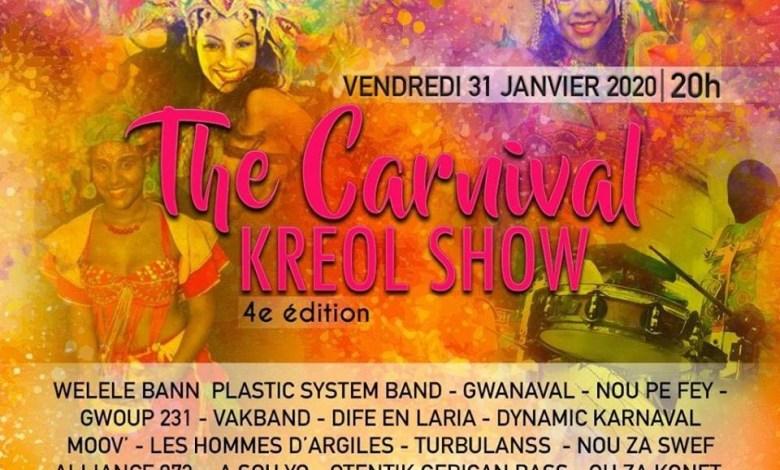 """Photo of La 4eme édition du """"The Carnival Kréol Show"""" se déroule au Diamant ce vendredi"""
