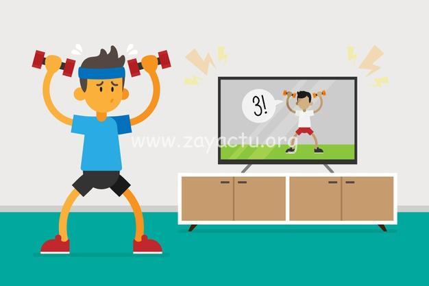 Sport à la maison