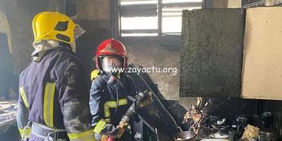 Incendie dans une maison à Rivière-Pilote