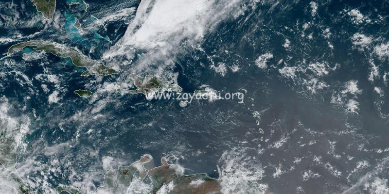 Perturbation au large des Bahamas