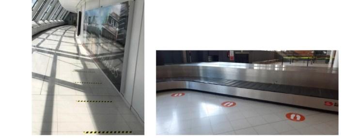 Zone d'arrivée aéroport Aimé Césaire