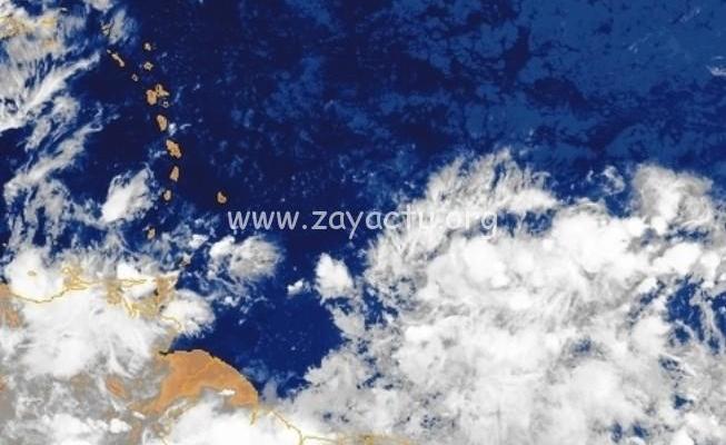 Une onde tropicale placée sous surveillance par le NHC, ce dimanche 5 juillet 2020.
