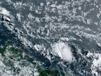 Tempête tropicale Gonzalo 24 juillet 2020