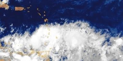 Une onde tropicale a débuté sa traversée de l'arc antillais
