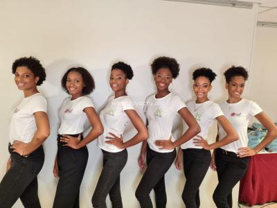 Les candidates à Miss Martinique 2020. ©ZayActu.org