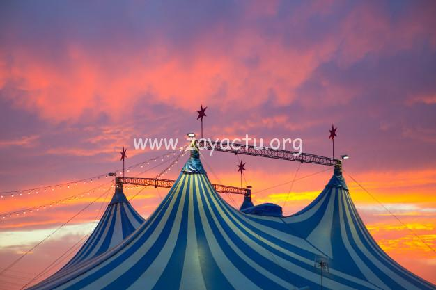 Chapiteau d'un cirque