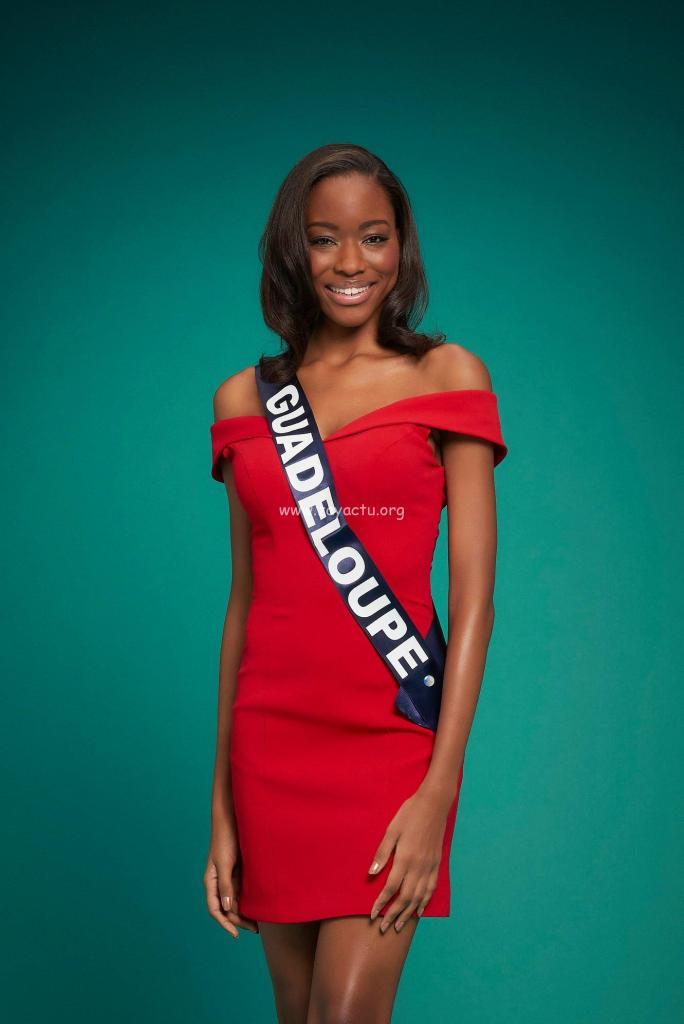 Kenza Andreze-Louison Miss Guadeloupe 2020.
