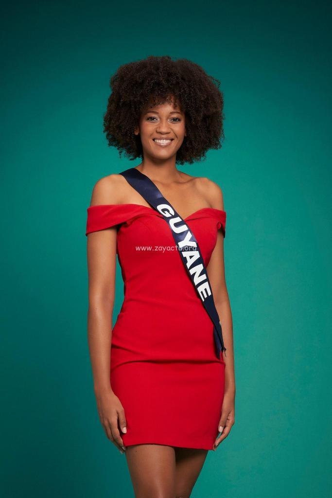 Héléneschka Horth Miss Guyane 2020.