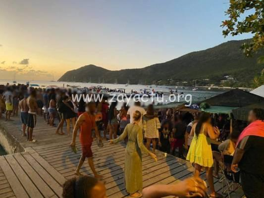 Une fête a réuni le week-end dernier bateaux à moteur et au moins 200 participants aux Anses-d'Arlet