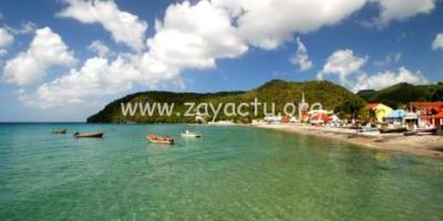 plage bourg Anses d'Arlet
