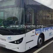 Bus du réseau de transport du centre. Photo : Martinique Transport.