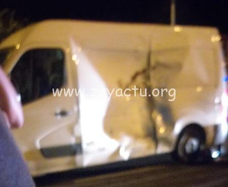 Une violente collision entre une moto et un fourgon fait un décès.