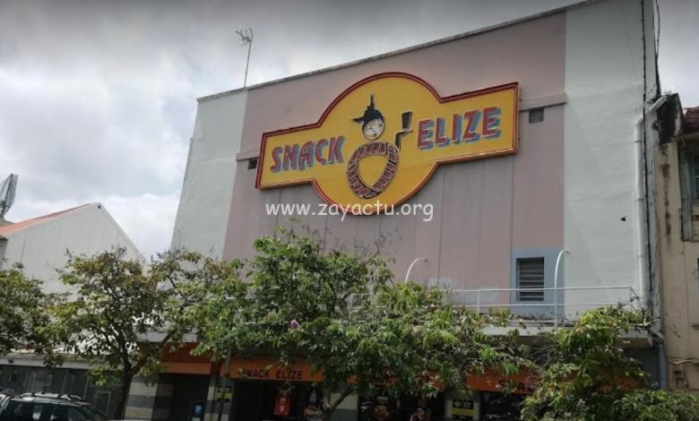 Le Snack Elizé de l'Olympia à Fort-de-France. Photo : réseaux sociaux.