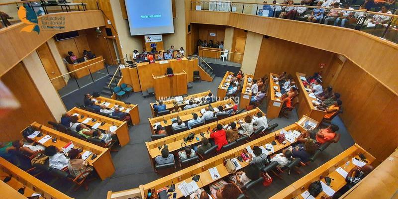 Séance plénière de l'assemblée de la CTM. Photo d'illustration.