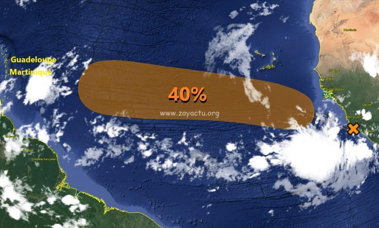 onde tropicale NHC