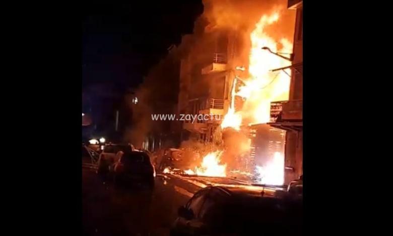 Incendie d'une maison aux Terres Sainville