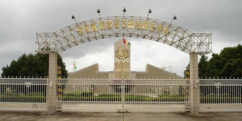 Le palais présidentiel Sékhoutouréah de la Guinée Conakry (illustration)