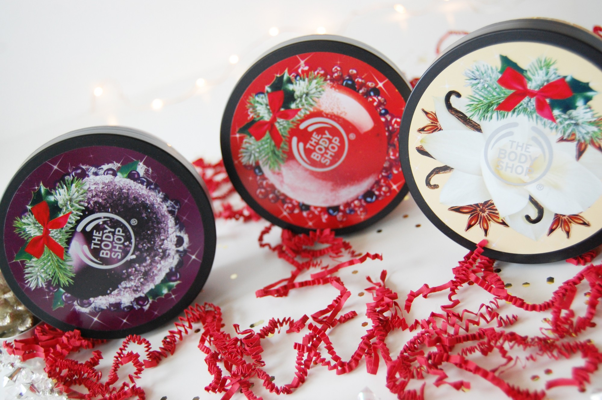 The Body Shop Christmas body butter